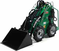 Rent a Sherpa electric skid steer in Homer Glen IL