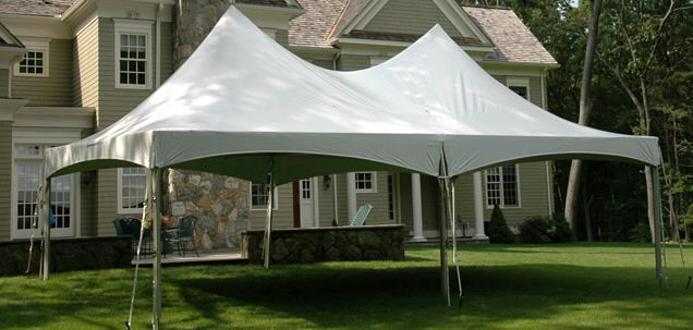 Where to find TOPTEC FRAME TENT 20 X 40 in Homer Glen
