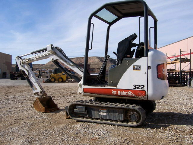 Where to find MINI EXCAVATOR 322 BOBCAT in Homer Glen