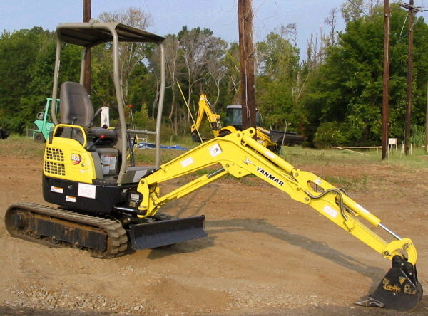 Where to find MINI EXCAVATOR V15 YANMAR in Homer Glen