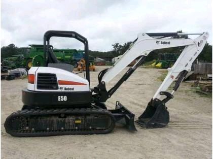 Where to find MINI EXCAVATOR E50 in Homer Glen