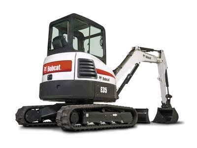 Where to find MINI EXCAVATOR E35 BOBCAT in Homer Glen