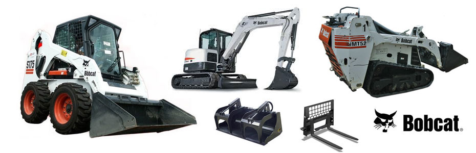 Bobcat rentals in Homer Glen Illinois, Lockport, Lemont, Orland Park, Tinley Park, Mokena, Frankfort, New Lenox, Alsip, and Blue Island IL